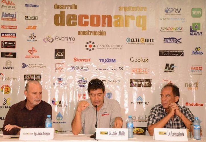 En conferencia de prensa se dieron a conocer los detalles del evento que se llevará a cabo en el Cancún Center. (Victoria González/SIPSE)