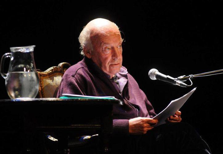 El escritor uruguayo Eduardo Galeano. (EFE/Archivo)