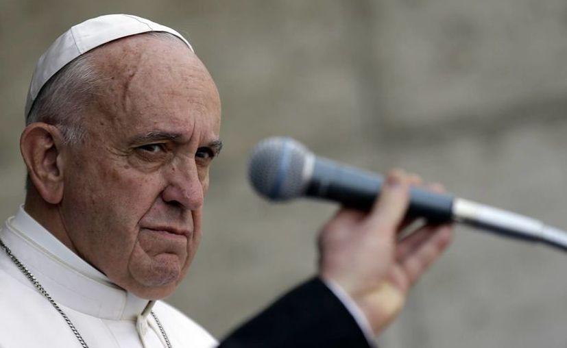 El papa Francisco llegó al máximo cargo de la Iglesia Católica tras la renuncia de Benedicto XVI, ocurrida en 2013. (AP)