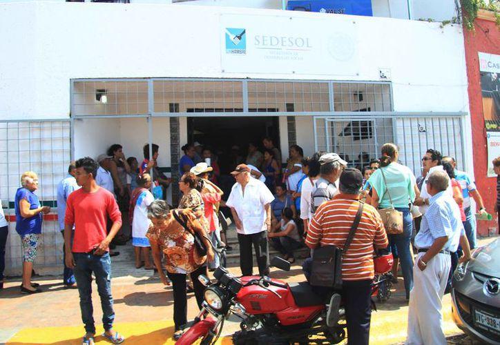 Continúan en curso los programas de apoyo de la dependencia en el municipio. (Luis Soto/SIPSE)