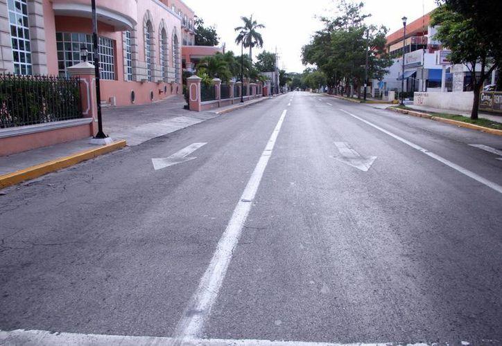 La avenida Colón por 60 será completamente rehabilitada como parte del nuevo Centro Internacional de Congresos de Mérida. (Milenio Novedades)