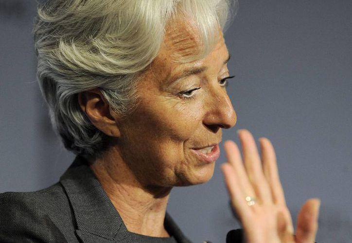 Christine Lagarde aseguró en el informe acerca del apoyo que el FMI brinda a sus 188 países miembros. (EFE)