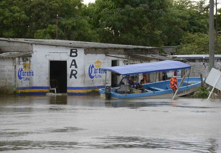 Las lluvias afectaron severamente varios municipios. (Archivo/Notimex)
