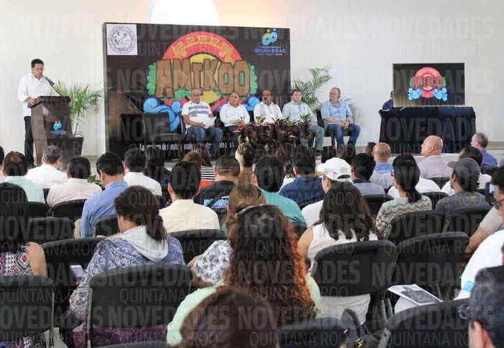 La presentación se realizó en la sala de Cabildo, auditorio Leona Vicario en Solidaridad. (Adrián Barreto/SIPSE)