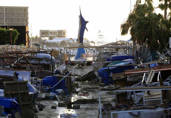 'Odile'  fue el huracán más poderoso en el Pacífico y dejó grandes destrozos a su paso por Baja California Sur. (Archivo/Notimex)
