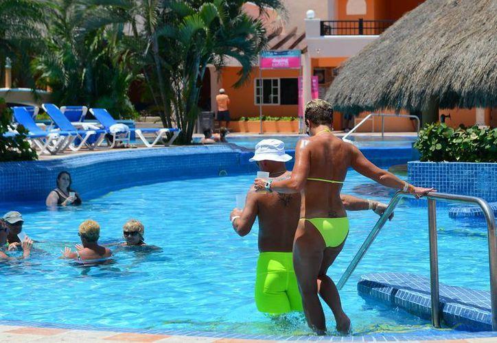 La isla de Cozumel es promocionada por la Asociación de Hoteles en Florida. (Gustavo Villegas/SIPSE)