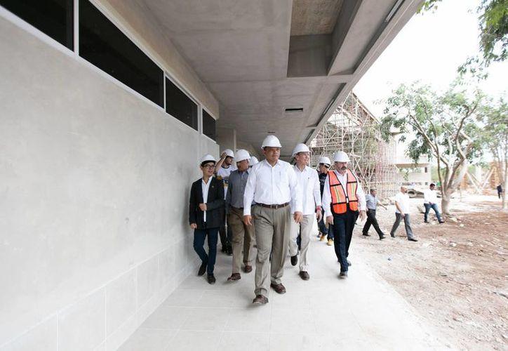Yucatán dispone de 100 mdp para infraestructura educativa para el inicio de este año, en el marco del programa Escuelas al CIEN. (Foto cortesía del Gobierno)
