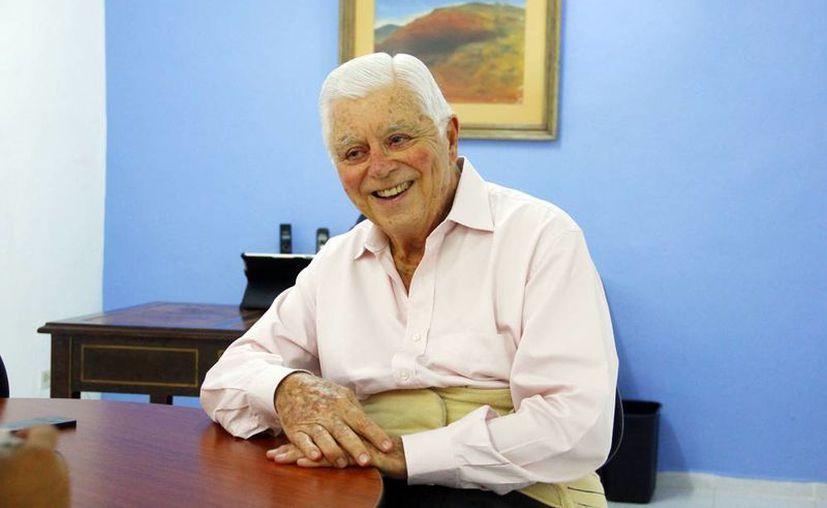 Adolfo Patrón Luján, Presidente del Patronato de la Orquesta Sinfónica de Yucatán. (Milenio Novedades)