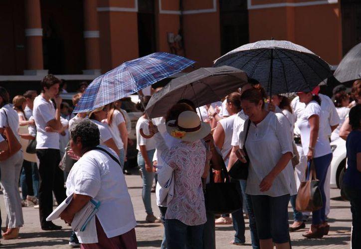 El intenso calor continuará en Yucatán, pero ahora se espera que lo haga acompañado por lluvias intensas. (Jorge Acosta/Milenio Novedades)