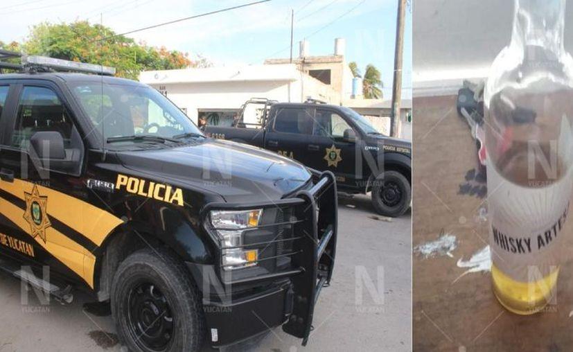 El consumo de alcohol adulterado en una fiesta ha dejado como saldo dos fallecidos y cinco hospitalizados en Progreso. (Foto: Gerardo Keb)