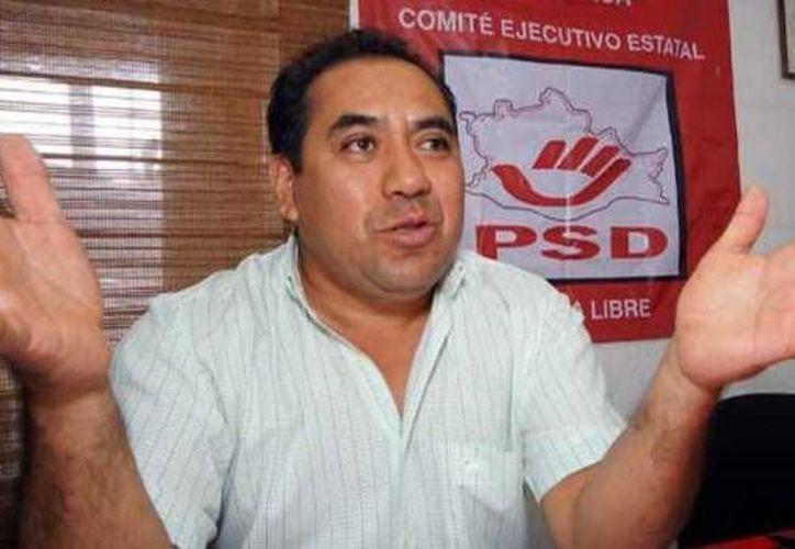 El dirigente del PSD en Oaxaca, Manuel Pérez Morales. (e-oaxaca.com)