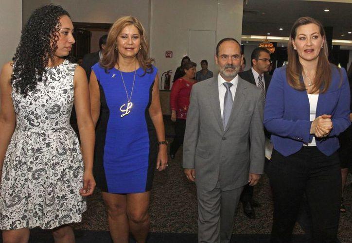Gustavo Madero concluye su gestión al frente del PAN en noviembre próximo. (Notimex)
