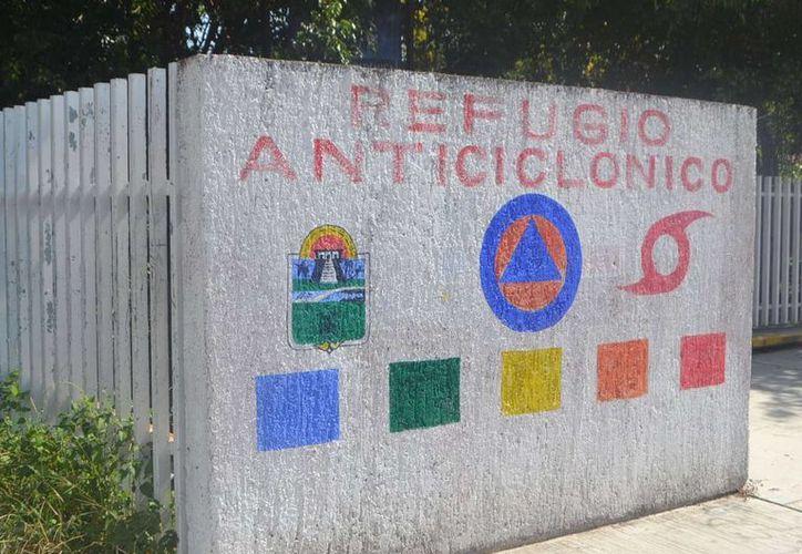 Tulum cuenta con 70 refugios anticiclónicos que pueden albergar hasta siete mil 373 personas. (Rossy López/SIPSE)