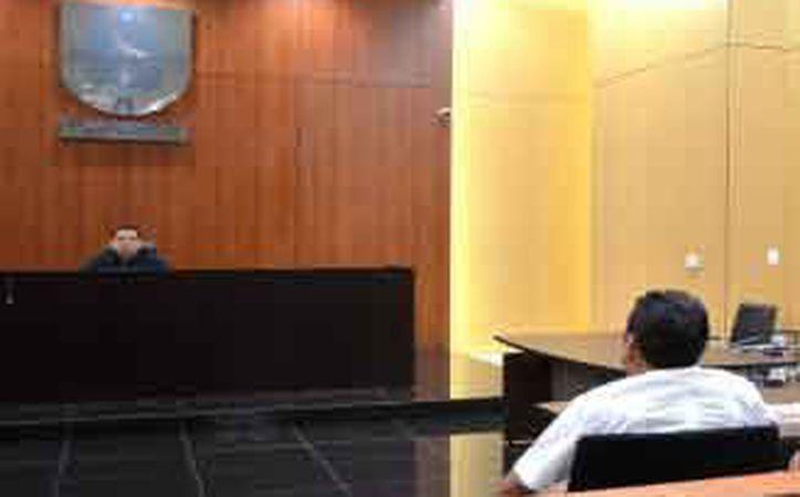 El acusado fue llevado ante el Juzgado Segundo de Control. (Redacción)