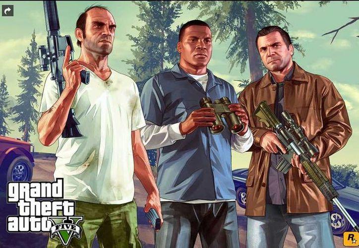 """El Grand Theft Auto V o como se conoce con sus siglas """"GTA V"""" sale este martes a la venta como uno de los videojuegos más esperados del año. (Internet)"""
