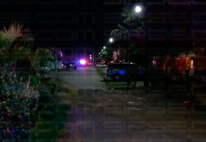 La policía municipal acordonó la zona. (Redacción/SIPSE)