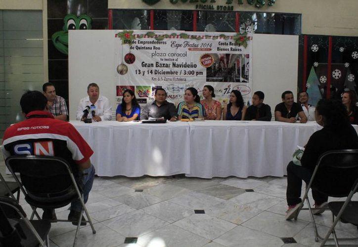Red Emprendedores anuncia la realización de la Expo Fiestas 2014. (Sergio Orozco/SIPSE)
