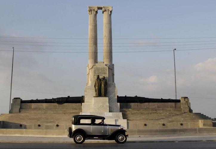 El monumento fue construido a principios del siglo pasado. (Agencias)