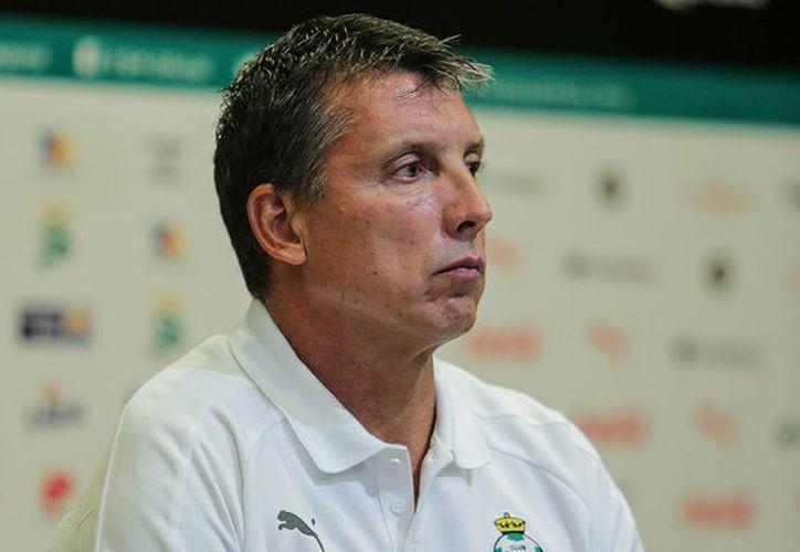 Robert Dante Siboldi, director técnico del Santos Laguna. (SIPSE)