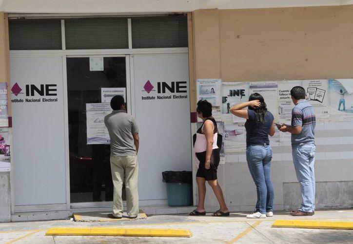 El INE aplicó multas por dos millones 489 mil 697 pesos. (Tomás Álvarez/SIPSE)