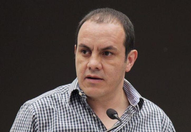 Blanco buscará que el mandatario de Morelos pague por sus hechos. (Foto: Contexto/Internet)