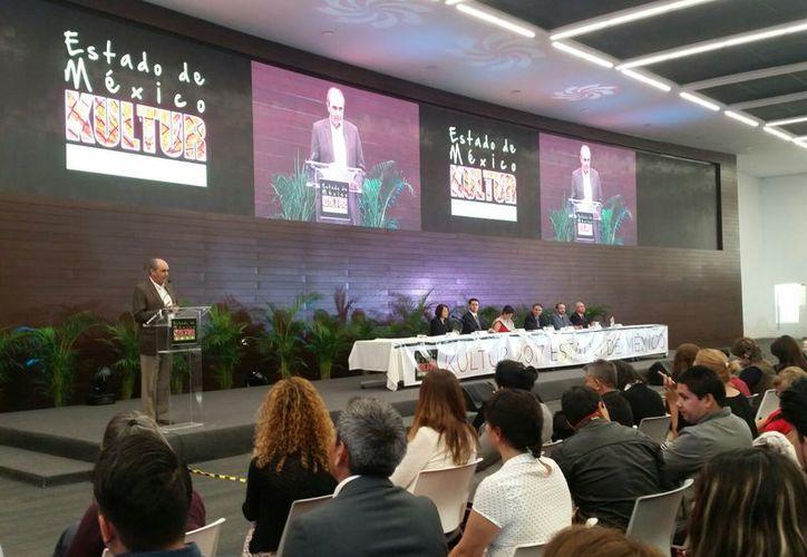 Se presentaron proyectos en la inauguración del Foro Nacional de Turismo y Cultura, Kultur. (Alejandro García/SIPSE)