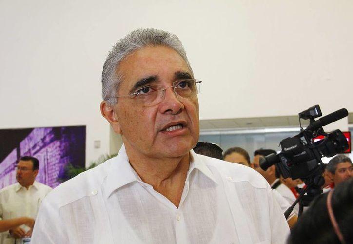 Alberto del Río Leal denunció actos de corrupción en el Ayuntamiento de Mérida y en el comité directivo estatal del PAN, por favorecer candidaturas de grupos políticos. (José Acosta/SIPSE)