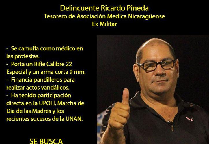 Médico que se volcó a favor de estudiantes en Nicaragua hoy vive en el exilio. (Foto: Milenio)