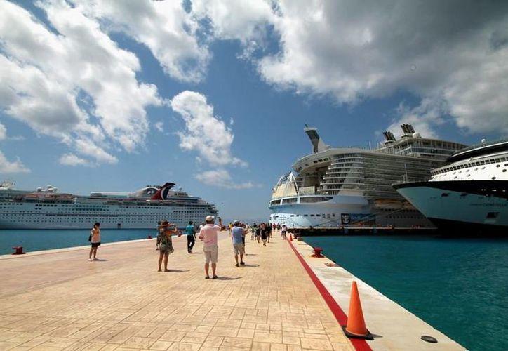 A partir del 10 de marzo empezaran a llegar los cruceros. (Reddacción/SIPSE)