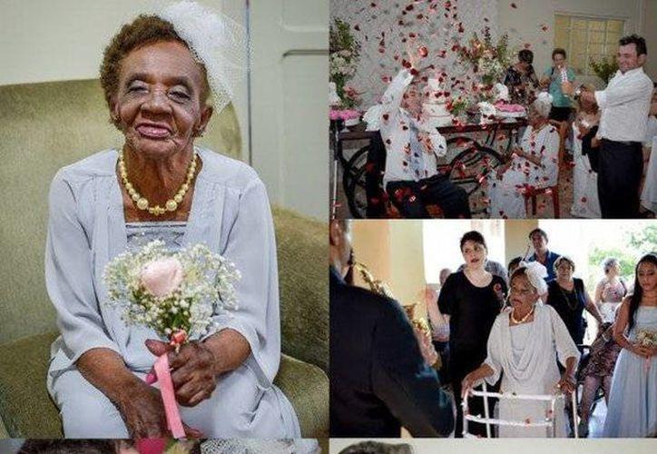 Imágenes de la boda de Valdemira y Aparecido, en el municipio de Pirasununga, en Sao Paulo, Brasil. (Foto: @VIVALASGIDIAN)