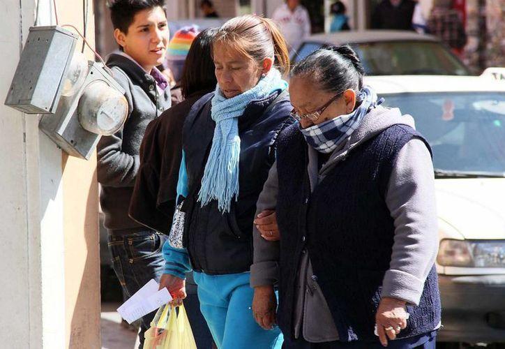En estados como Baja California y San Luis Potosí se pronostican temperaturas cercanas a los cero grados. (Archivo/Notimex)