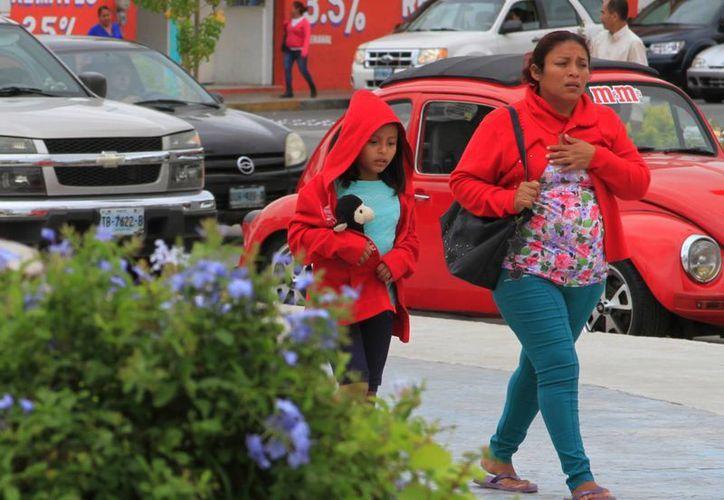 Se prevé que las bajas temperaturas continúen en Yucatán, aunque acompañadas de lluvia: Ayer Mérida amaneció a 20.8 grados. (SIPSE)