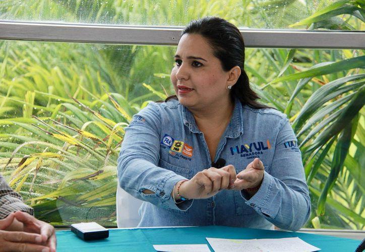 """La candidata Mayuli Martinez afirmó que """"se debe garantizar el acceso equitativo a cátedras y fondos de investigación"""". (Foto: Redacción)"""