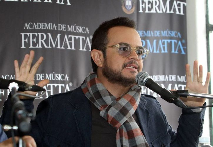 """Syntek, junto con músicos como Reyli, Alex Lora y Armando Manzanero impulsó la campaña """"México defiende lo suyo"""", sobre la importancia de los derechos de autor. (Archivo Notimex)"""