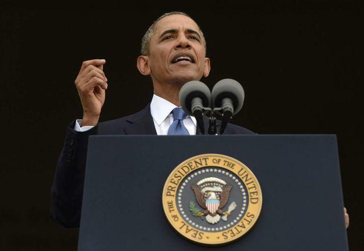 Gracias a King, EU se volvió más libre y justo, aseguró Obama. (EFE)