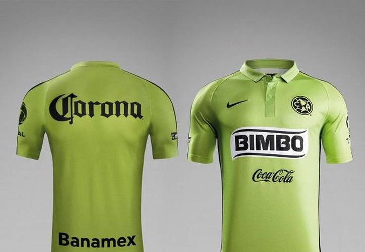 El primer uniforme del América seguirá siendo amarillo la próxima temporada, pero el tercero lucirá un tono verde manzana.  (clubamerica.com.mx)