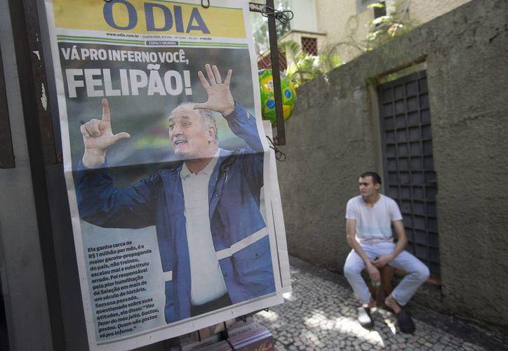 Los medios de Brasil no se quedaron callados ante la peor derrota en su historia. (Foto: AP)