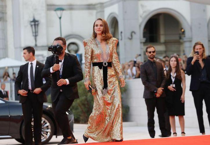 La actriz estadounidense Natalie Portman participó en el Festival de Venecia. (vanguardia.com)