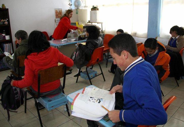 La educación de calidad es el principal reto de México, señala Coparmex. (Archivo/Notimex)