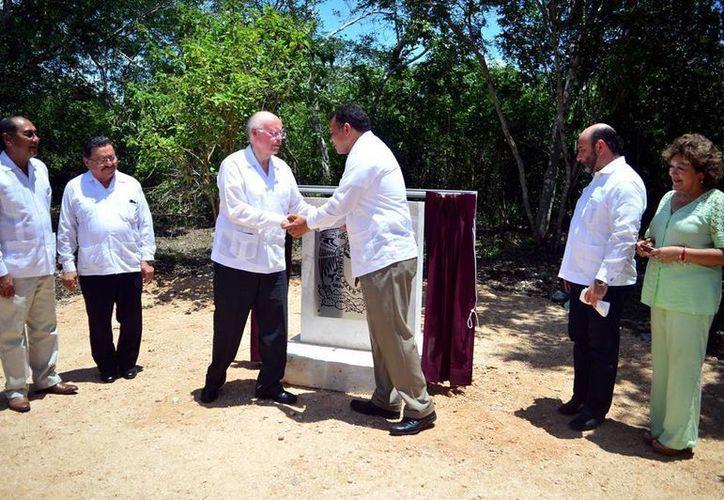 Hoy, el mandatario estatal Rolando Zapata dará inicio a los trabajos de reconstrucción del mercado municipal de Halachó. (Archivo/ Milenio Novedades)