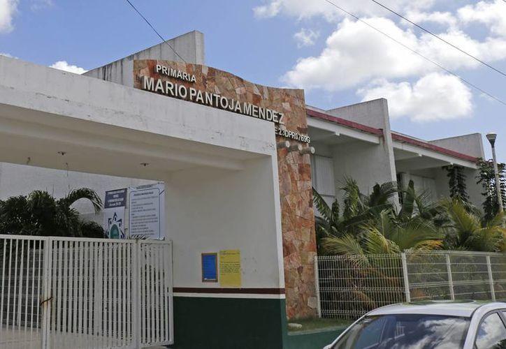 """La primaria """"Mario Pantoja Méndez"""" fue amenazada por la delincuencia. (Jesús Tijerina/SIPSE)"""