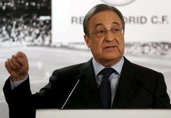 El Tribunal de Arbitraje Deportivo decidió desestimar el recurso interpuesto por el Real Madrid, luego de que fue eliminado ante la alineación indebida del ruso Cheryshev. En la imagen, Florentino Pérez, presidente merengue (Milenio Digital)