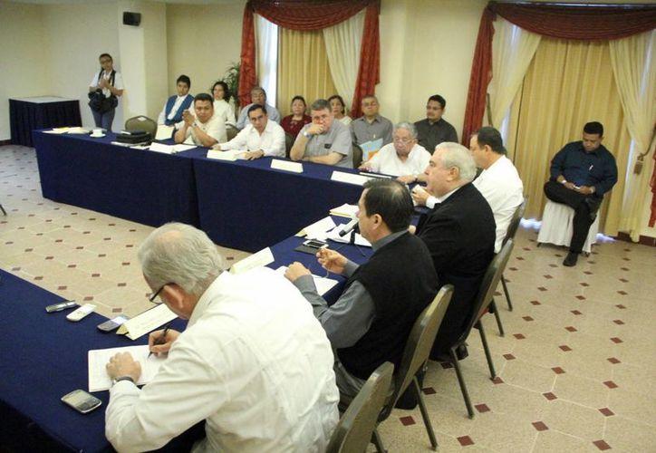 Hoy concluye la reunión provincial de los obispos del sureste. (José Acosta/SIPSE)