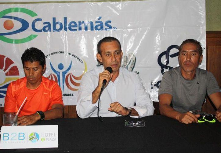Juan Antonio Casarrubias, director general del maratón, anunció que se vivirá una gran fiesta en el evento del año. (Redacción/SIPSE)