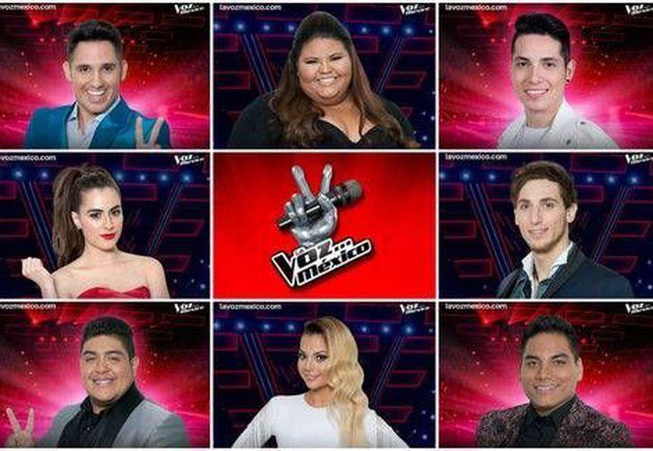Los ocho finalistas de <i>La Voz México</i> compartieron sus planes a futuro. (Milenio Digital)
