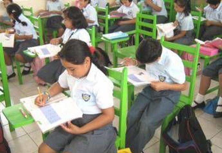 El gobierno del estado anunció que mañana se reanudarán las clases en todos los niveles escolares.  (Archivo/SIPSE)