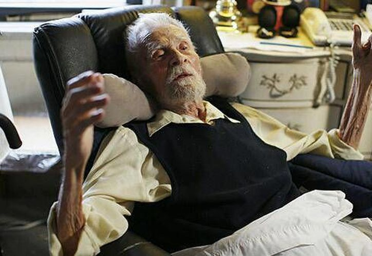 Imich sobrevivió el Holocausto al huir de su natal Polonia hacia Rusia, luego de lo cual emigró a Estados Unidos. (Reuters)