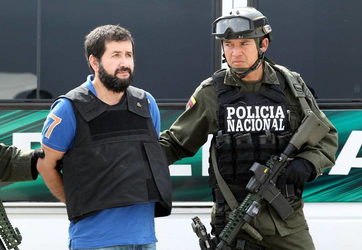 En la imagen, el narcotraficante Daniel Barrera, alias 'El Loco'. (Archivo/EFE)