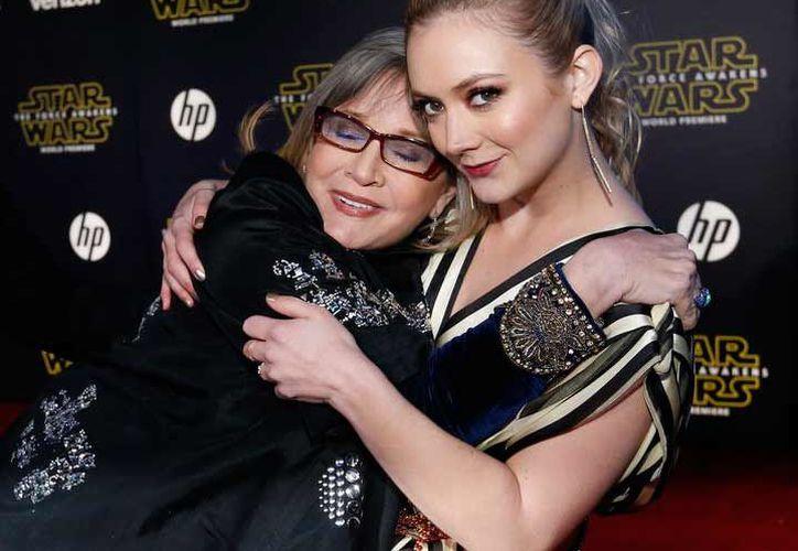 La actriz de 24 años será la única beneficiaria de su patrimonio de Fisher.(Reuters)