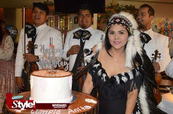 Cumpleaños estilo Indian Cherokee para Ana González